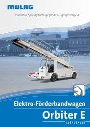 Orbiter E - MULAG Fahrzeugwerk, Heinz Wössner GmbH u. Co. KG