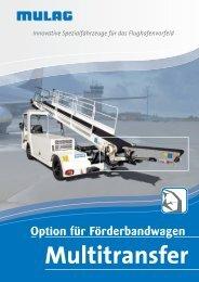 Multitransfer für Orbiter - MULAG Fahrzeugwerk, Heinz Wössner ...