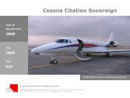 Cessna Citation Sovereign - Swiss Aviation Consulting Group