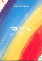 Análise Espectral de Séries Temporais - Pesquisa Operacional - UFRJ