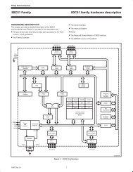 80C51 family hardware description 80C51 Family - ECEE