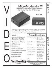 MicroModulator™ - NetMedia