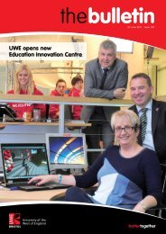 UWE opens new Education Innovation Centre - University of the ...