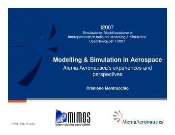 Modelling & Simulation in Aerospace - Liophant Simulation