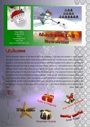 December Newsletter - March Golf Club