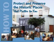 Section 1 - Preservation Pennsylvania