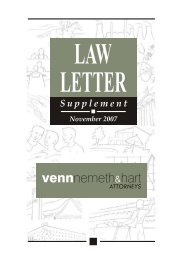 November 2007 - Venns Attorneys, Notaries and Conveyancers