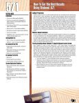 Titebond® 571URETHANE Titebond ... - Andy's Web Tools - Page 3