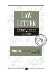 April 2008 - Venns Attorneys, Notaries and Conveyancers