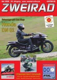 Honda DN 01 - ZWEIRAD-online