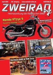 Honda VT750 S - ZWEIRAD-online