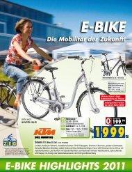 E-BikE HigHligHts 2011