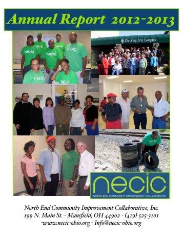 Annual Report 2012-2013 (Web Layout) - NECIC Ohio