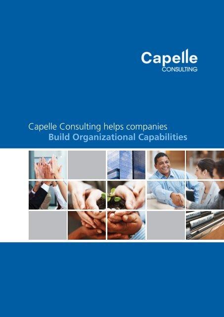 CORPORATE PROFILE 2013 - Capelle Academy