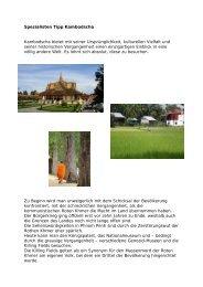 Spezialisten Tipp Kambodscha Kambodscha bietet mit seiner ...