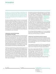 Siemens-Nachhaltigkeitsbericht 2010, Innovation