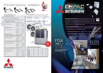 0 NEW Product Guide LEAFLETS - Mitsubishi Heavy Industries Ltd.