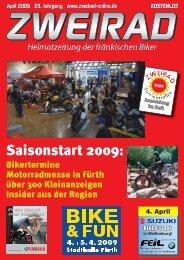 Saisonstart 2009: - ZWEIRAD-online