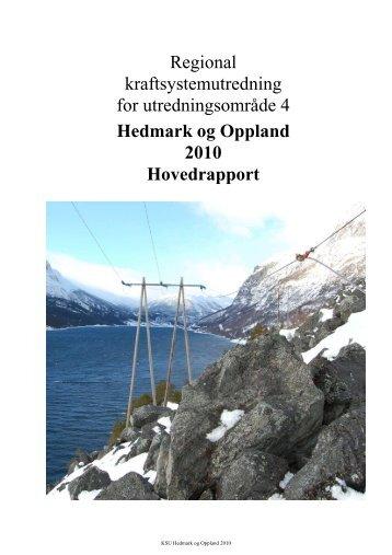 Regional kraftsystemutredning for ... - Eidsiva Nett AS