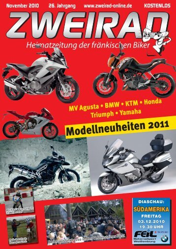 Modellneuheiten 2011 - ZWEIRAD-online
