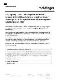 Kost og losji i 2003 - Skatteetaten