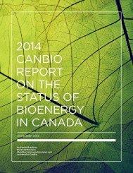Final 2014 Canada Report on Bioenergy