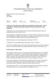 FYLKESMANNEN I OSLO OG AKERSHUS - Kommunal Rapport