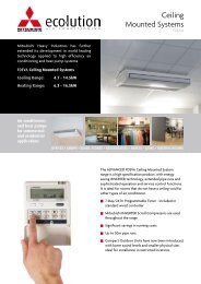 FDEVA Ceiling Mounted Systems - 3D Air Sales Ltd.