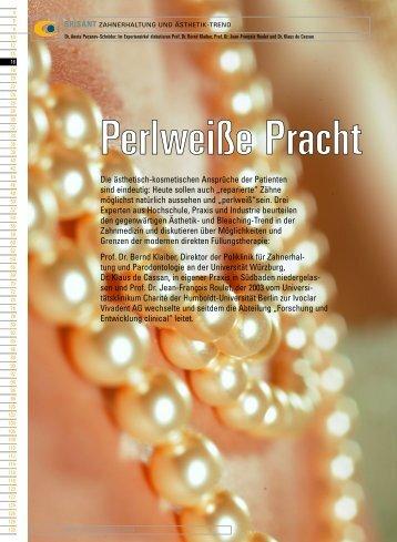 Die ästhetisch-kosmetischen Ansprüche der ... - Zahnheilkunde.de