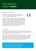 Din sikkerhet, ditt ansvar - Lysenett - Page 6