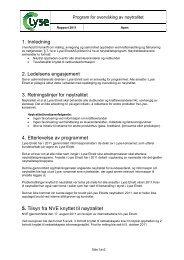 1. Innledning 2. Ledelsens engasjement 3. Retningslinjer for ...