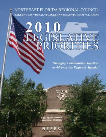 2010 Legislative Priorities - Northeast Florida Regional Planning ...