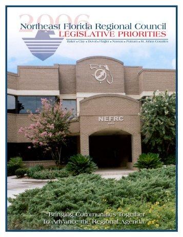 Legislative Priorities - Northeast Florida Regional Planning Council