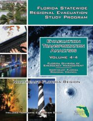 Volume 4: Evacuation Transportation Analysis - Northeast Florida ...