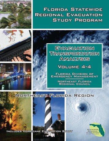 Volume 4: Evacuation Transportation Analysis - Northeast Florida ...