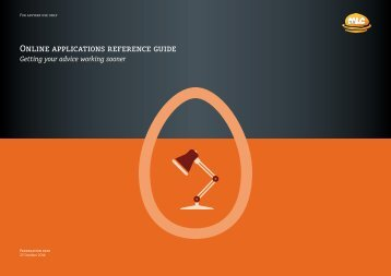 Online Applications guide - MLC