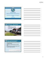 Northeast Florida Regional Transportation Study Commission ...