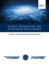 Science, Technology, and Innovation Policy Review 2011 - OPAR