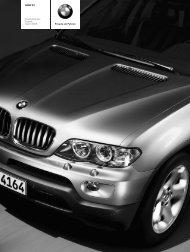 Freude am Fahren BMW X5 Die  Preisliste Stand: April ... - X5-Sport.de
