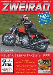 Neuer Klassiker Ducati GT 1000 - ZWEIRAD-online