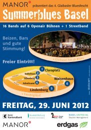 FREITAG, 29. JUNI 2012 - Summerblues