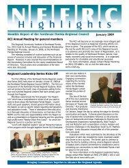 January 2009 - Northeast Florida Regional Council