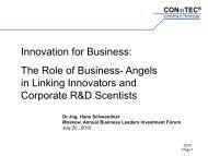 Hans Schwendner - Marchmont Capital Partners