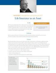 Life Insurance as an Asset - Shaw American