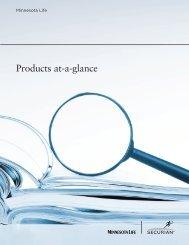 Minnesota Life Products at a glance.pdf - Shaw American