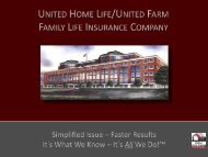 United Home Life Products - Shaw American