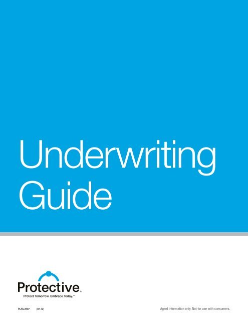 Underwriting guide pinney insurance.