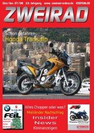 Honda Transalp - ZWEIRAD-online