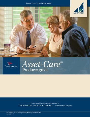 State Life Asset-Care Producer Guide - Shaw American