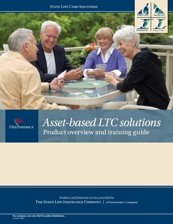 State Life-One America Asset Care Solution ... - Shaw American